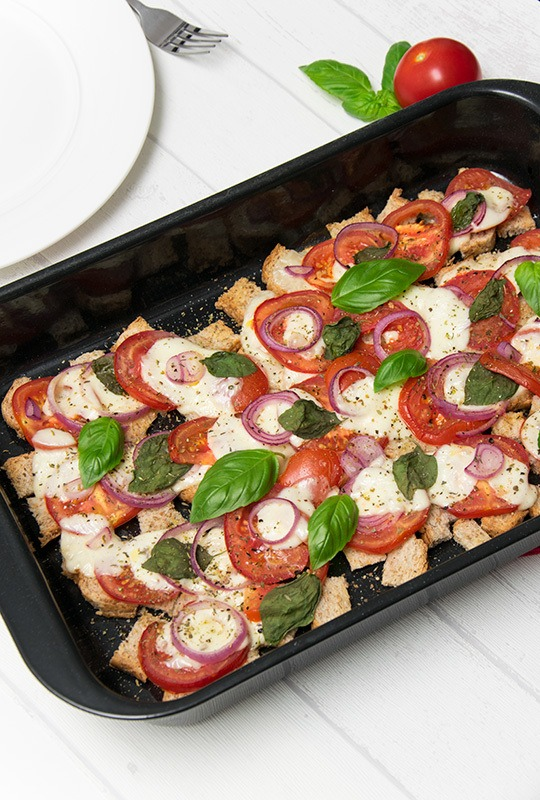 Rezept Tomate-Mozzarella-Auflauf