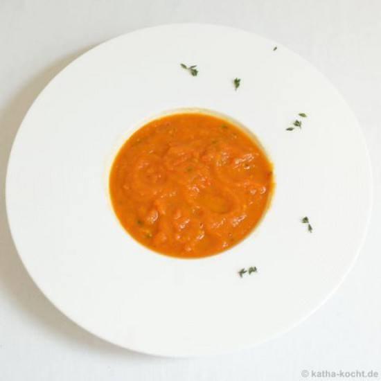 Rezept Tomaten-Auberginen Suppe