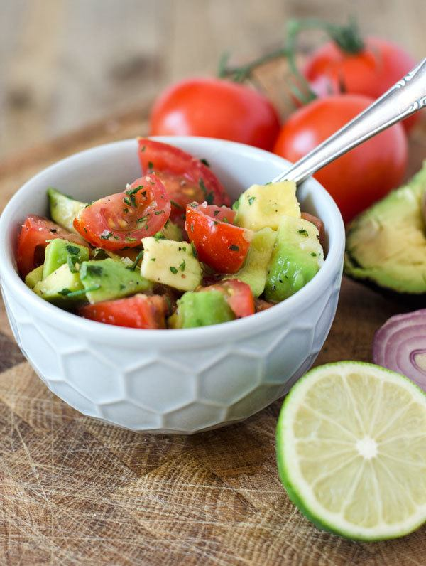Rezept Tomaten-Avocado-Salat