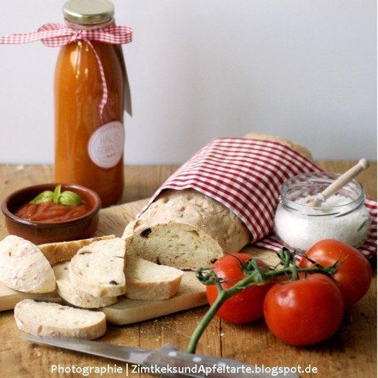 Rezept Tomaten-Ciabatta mit homemade Mango-Ketchup