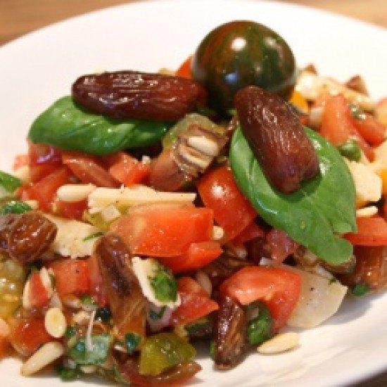 Rezept Tomaten-Dattel-Salat