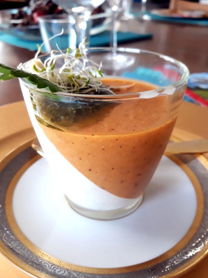 Rezept Tomaten-Frischkaese Terrine
