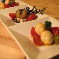 Rezept Tomaten mit Mozarellakugeln