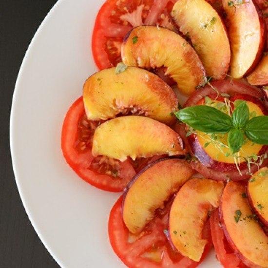 Rezept Tomaten-Nektarinen-Salat