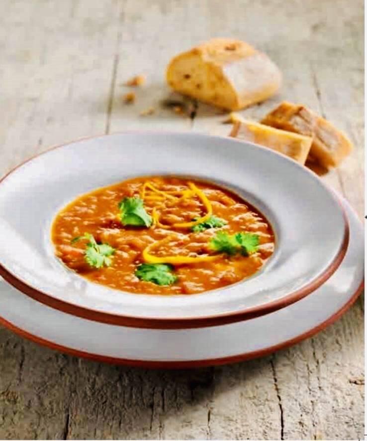 Rezept Tomaten-Orangen-Suppe mit Ingwer