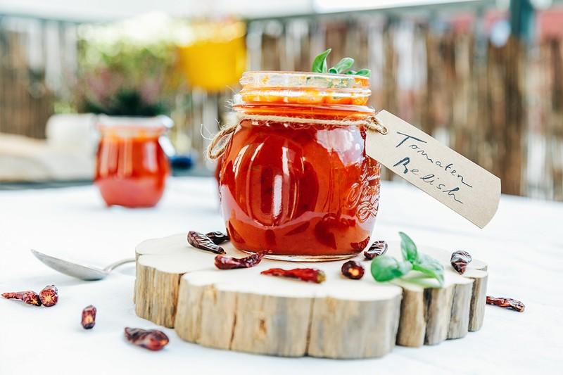 Rezept Tomaten-Relish - Australien lässt grüßen