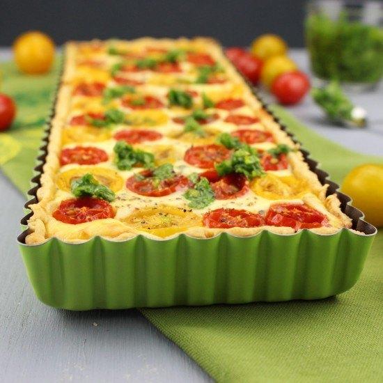 Rezept Tomaten-Ricotta-Tarte