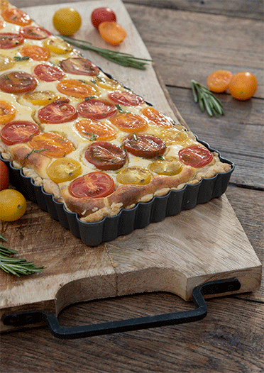 Rezept Tomaten Ricotta Tarte