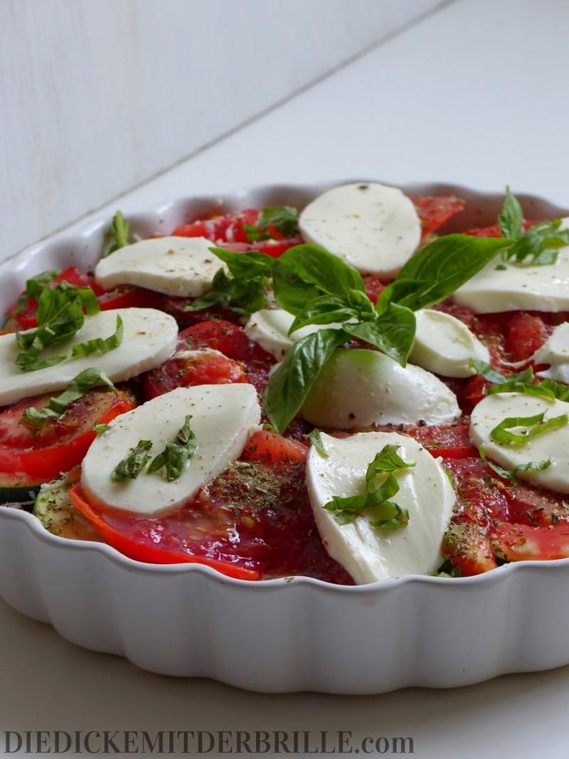 Rezept Tomaten-Zucchini-Auflauf