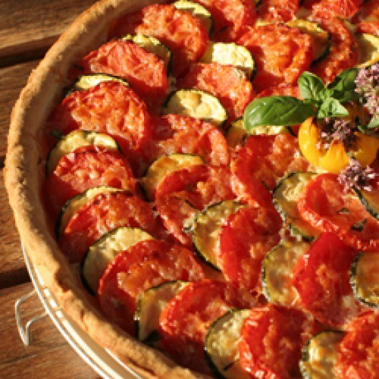 Rezept tomaten-zucchini kuchen