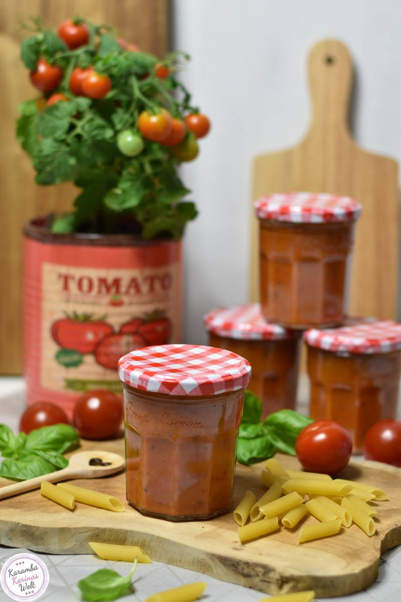Rezept Tomatensoße aus dem Backofen