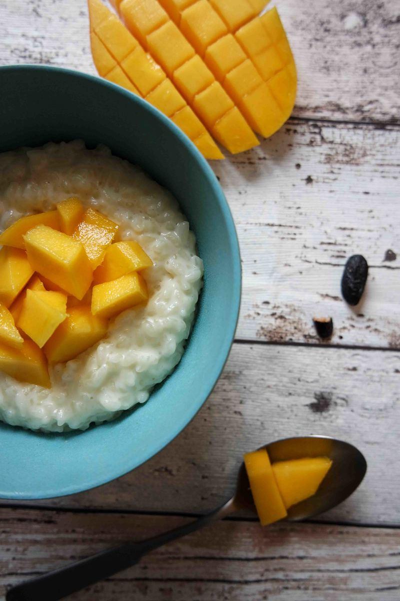 Rezept Tonka Milchreis mit Mango
