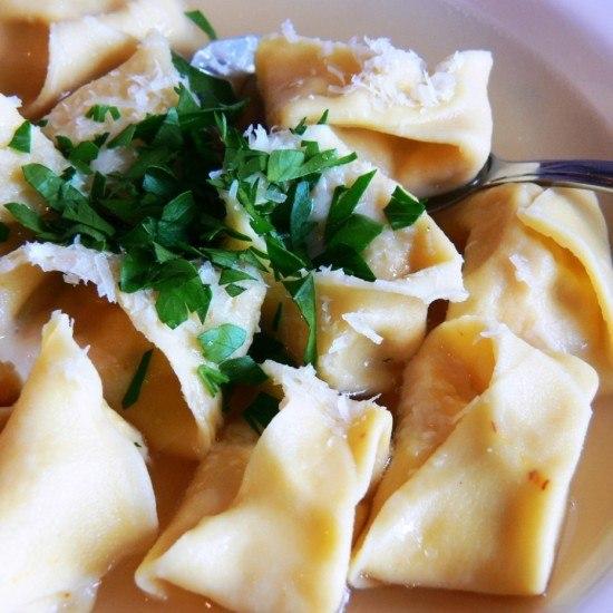 Rezept Tortellini in brodo