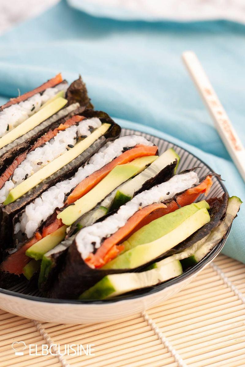 Rezept Tortilla-Hack – klassisch und mit Sushi