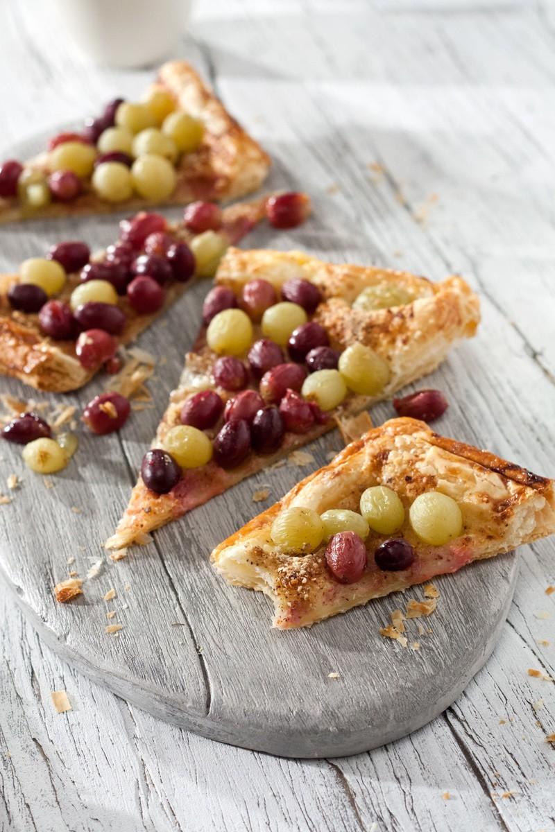 Rezept Trauben-Tarte