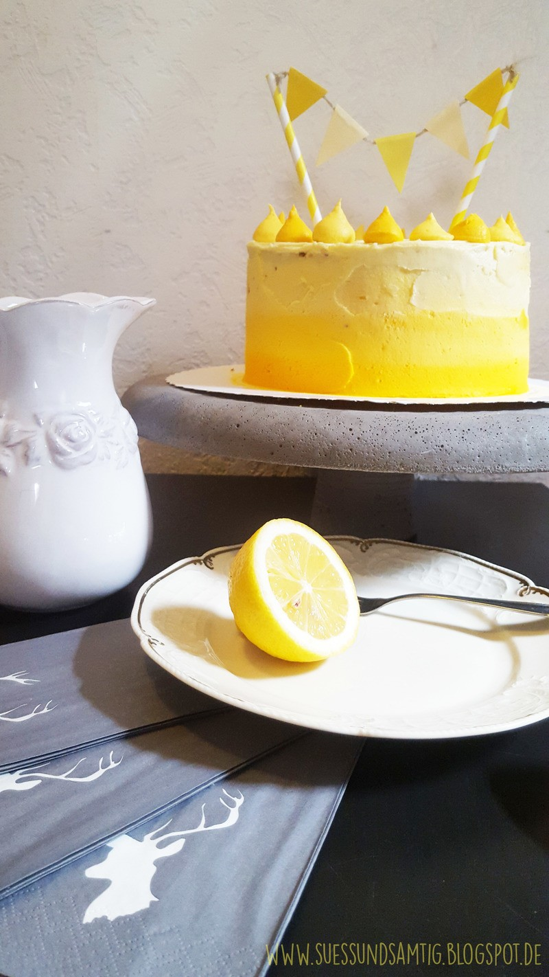 Rezept Triple Lemon Cake