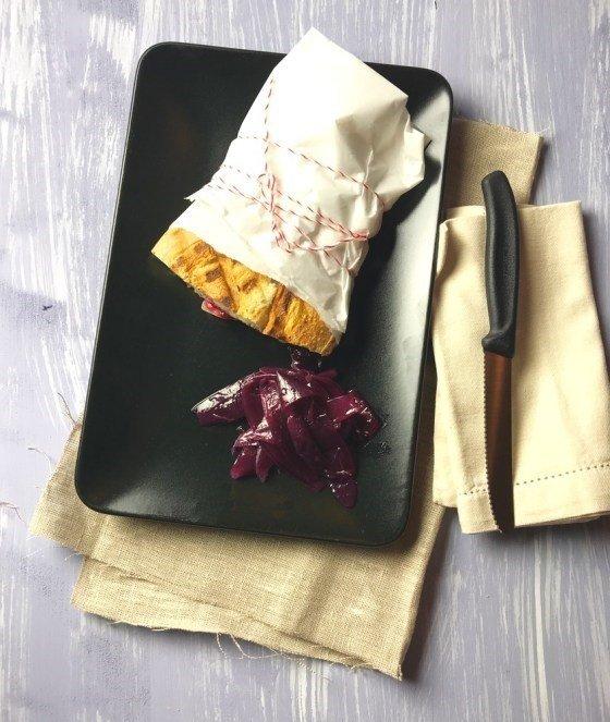 Rezept Truthahn-Sandwich mit Käse und Chutney
