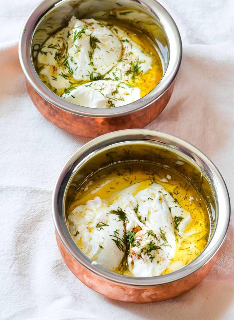 Rezept Türkische Eier (Çilbir)