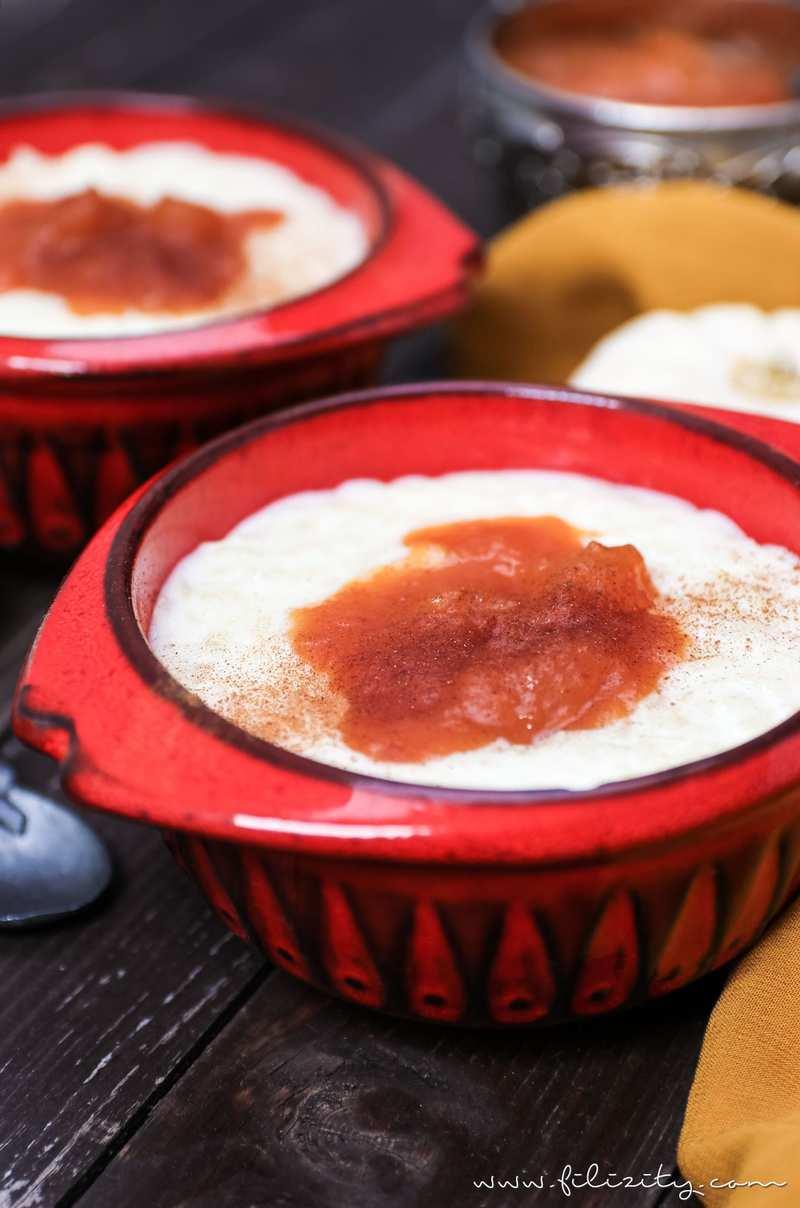 Rezept Türkischer Milchreis mit Kürbis-Pflaumen-Kompott