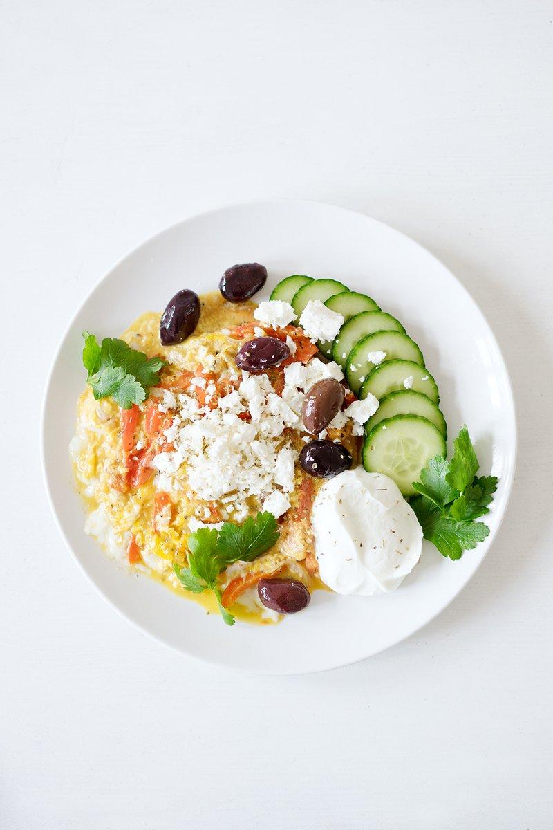 Rezept Türkisches Rührei mit Zwiebeln, Paprika und Tomaten [Menemen]
