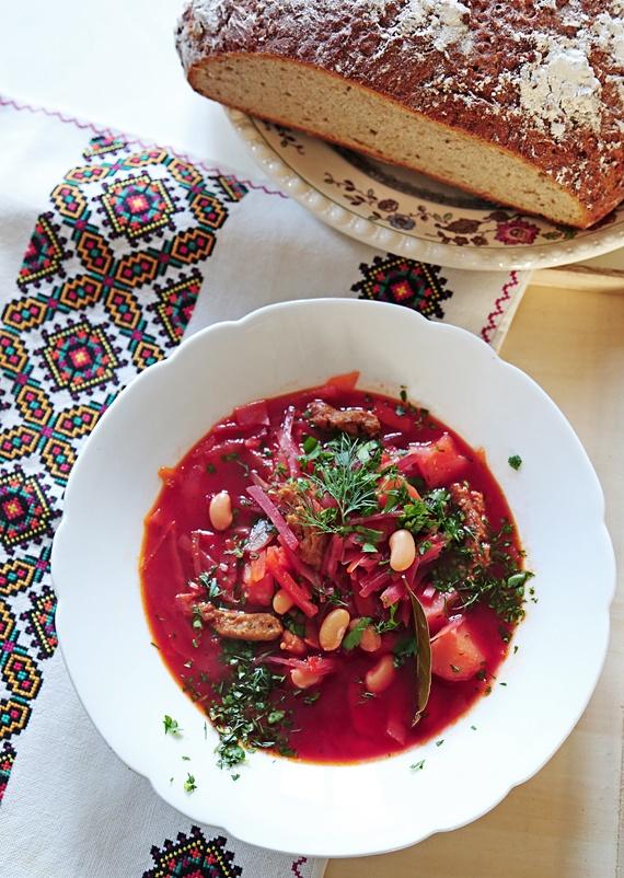 Rezept Ukrainischer Borschtsch