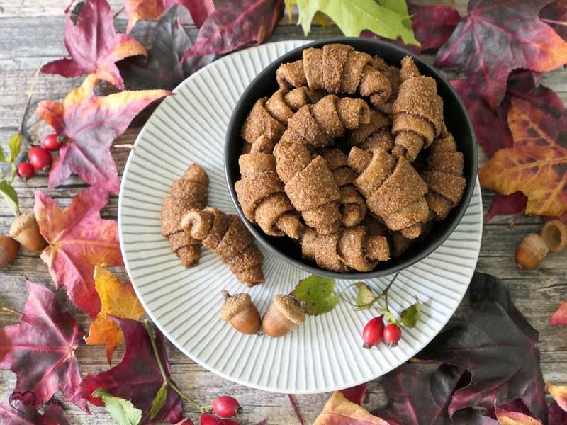 Rezept Unverschämt leckere Mini-Nusshörnchen mit gerösteten Haselnüssen