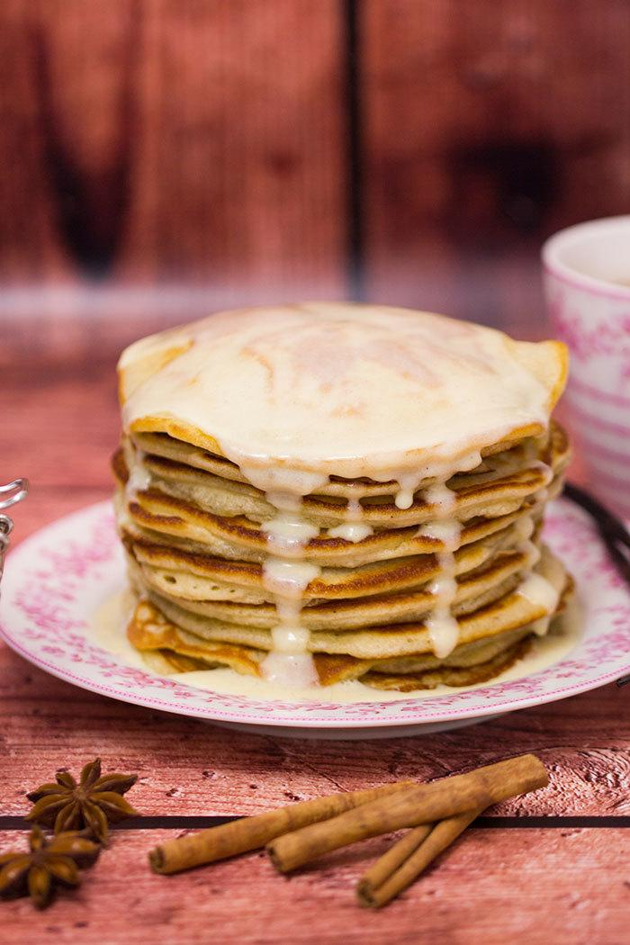 Rezept Vanilla Chai Pancakes