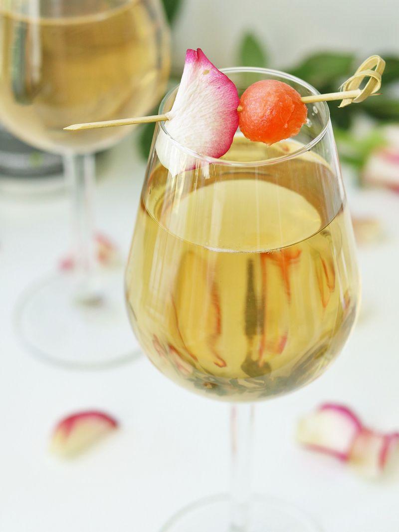 Rezept Vanilla Rose Sprizz