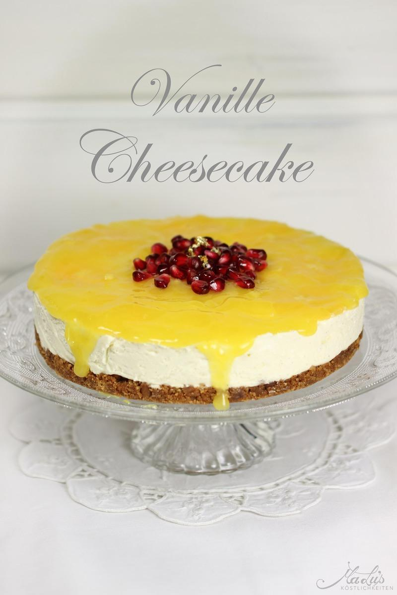 Rezept Vanille Cheesecake mit Orangen & Muskatnuss