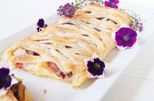 Rezept Vanille Pflaumen Kuchen