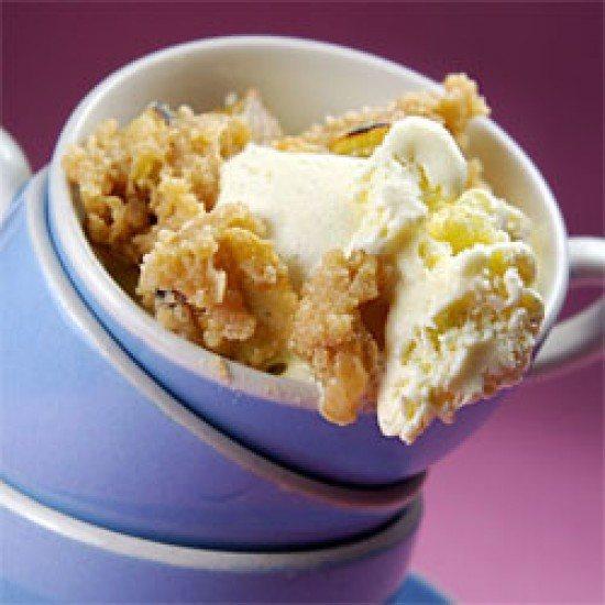 Rezept Vanilleeis mit karamellisierten Maroni