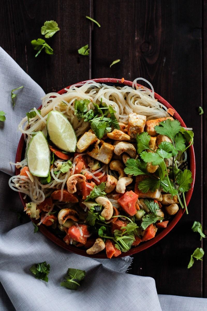 Rezept Vegane Asia-Pfanne mit viel Gemüse