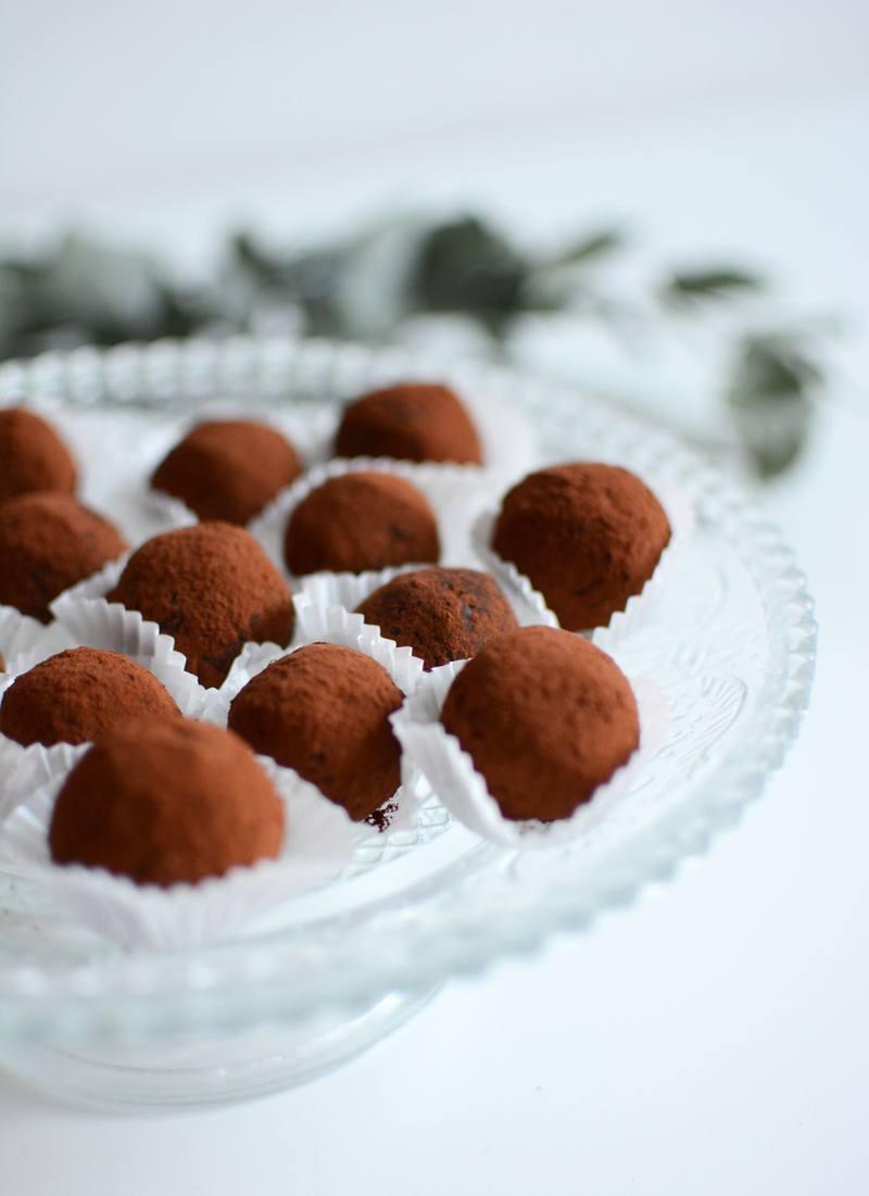 Rezept vegane Kugerl im Kakaomantel