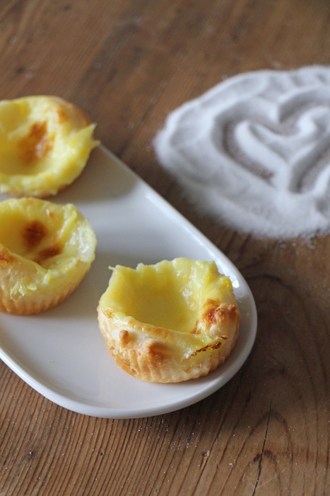 Rezept Vegane Pasteis de nata