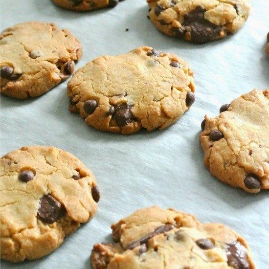 Rezept Vegane Schoko Cookies