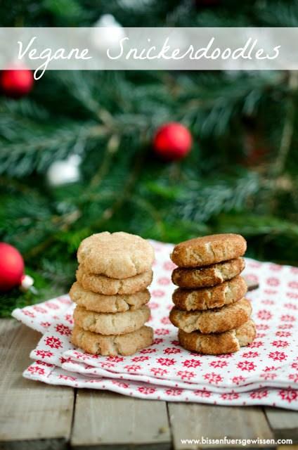 Rezept Vegane Snickerdoodles mit Cashews