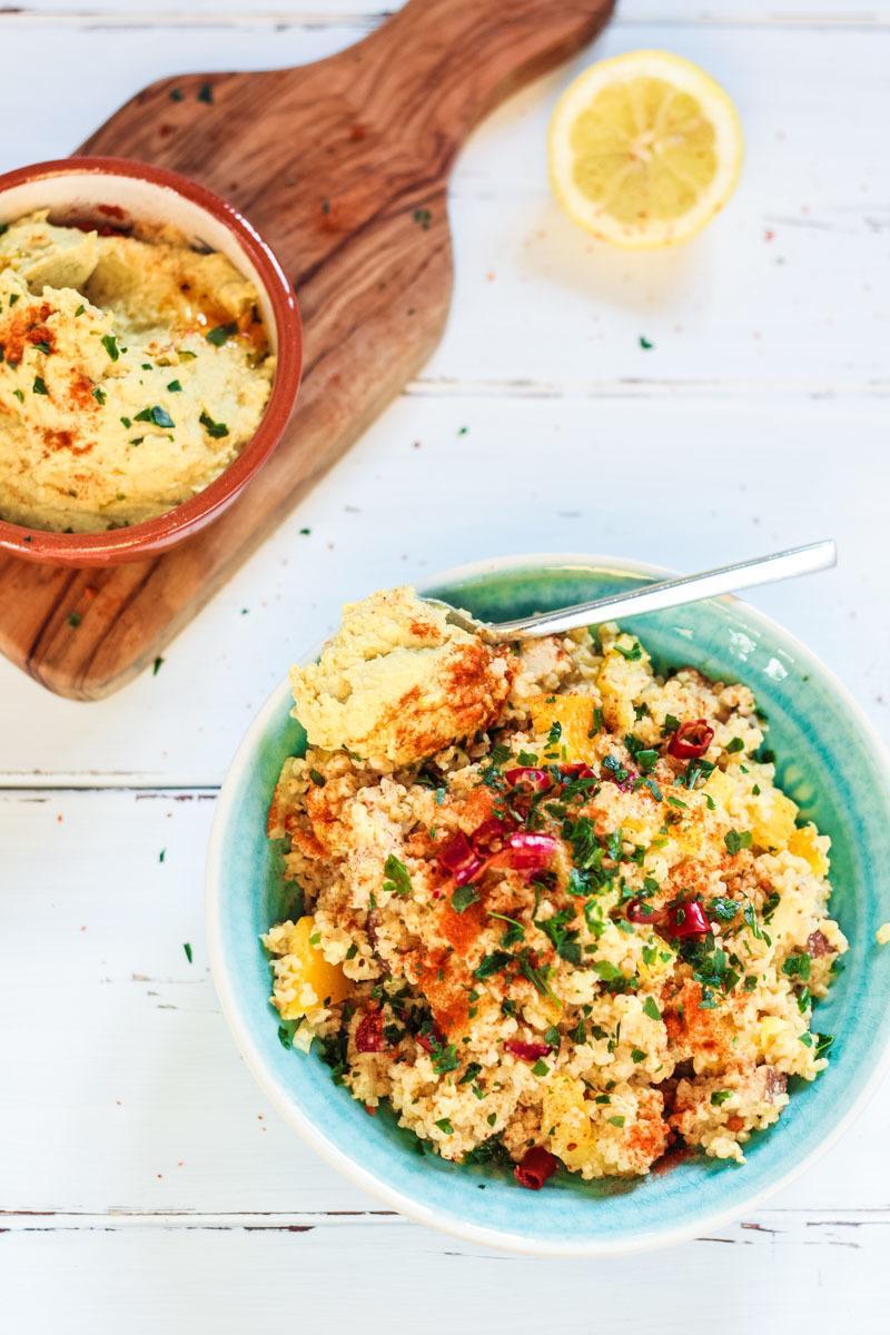 Rezept Veganer Bulgur Salat