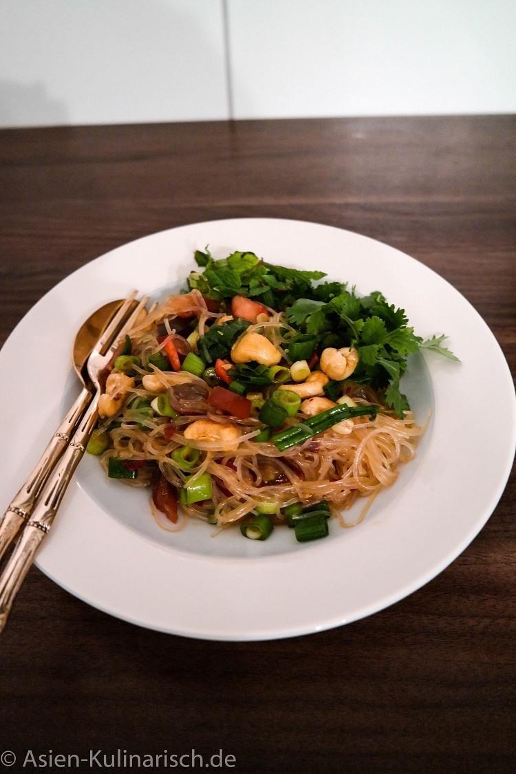 Rezept Veganer Glasnudelsalat aus Thailand