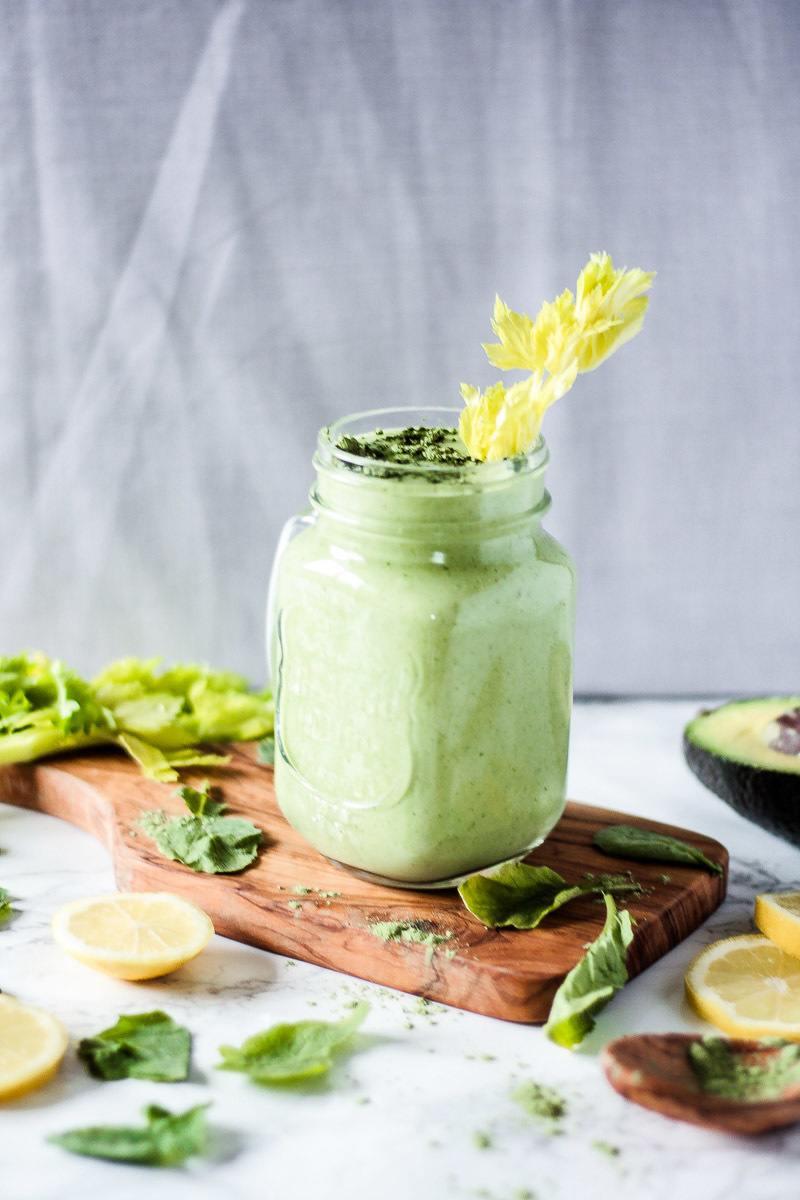 Rezept Veganer grüner Smoothie
