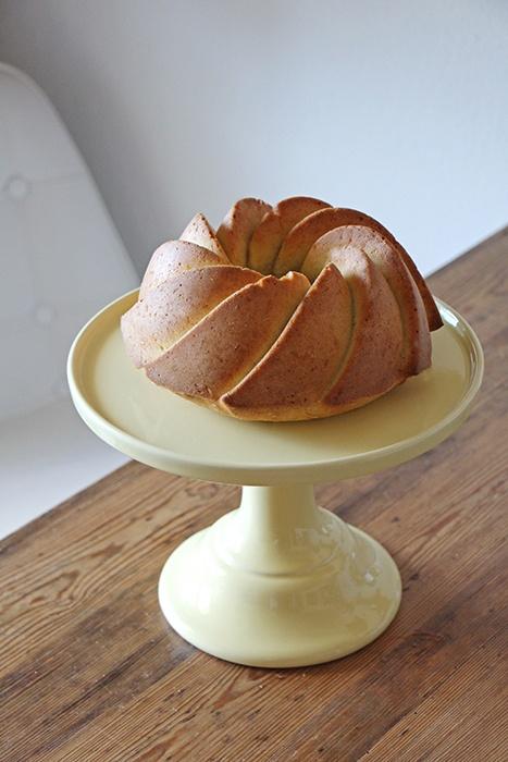 Rezept Veganer Kokos-Zitronen-Gugelhupf