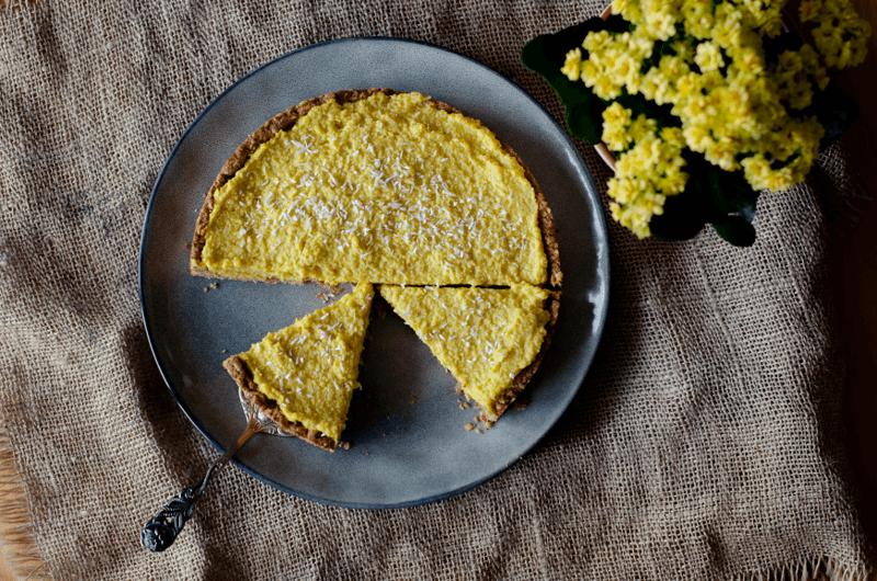 Rezept Veganer Kuchen mit Mango-Hirse-Creme