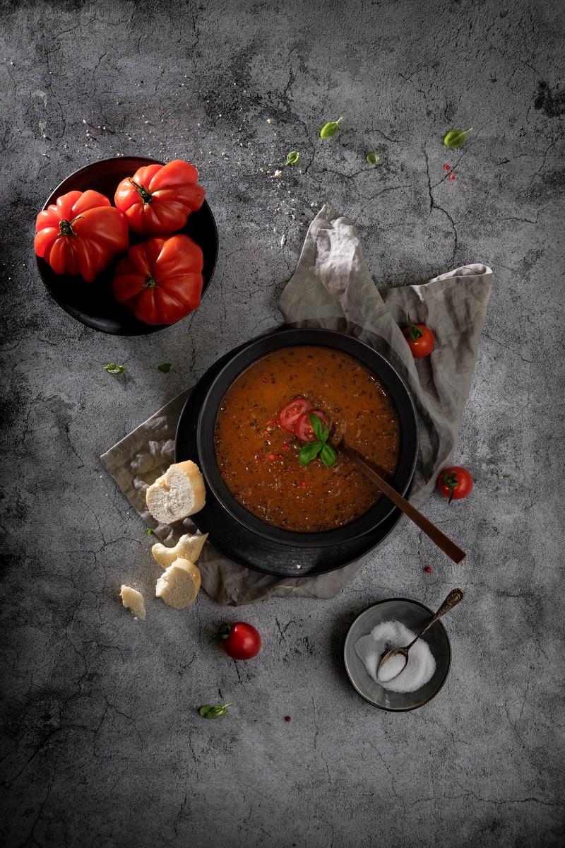 Rezept Veganer Tomaten-Linseneintopf