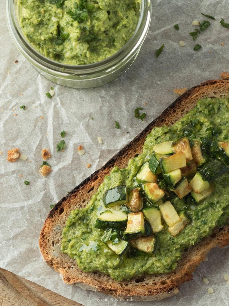 Rezept Veganer Zucchini-Bärlauch-Aufstrich