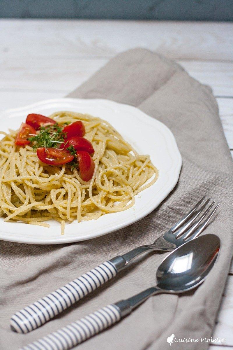 Rezept Veganes Avocado Pesto