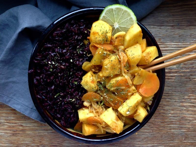 Rezept Veganes Curry mit Wurzelgemüse