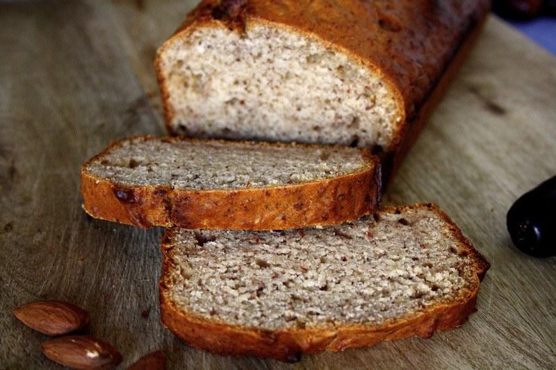 Rezept Veganes Dattelbrot ohne Zucker