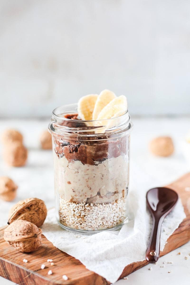 Rezept Veganes Frühstück mit Maronencreme