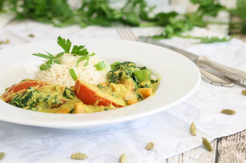Rezept Veganes indisches Korma