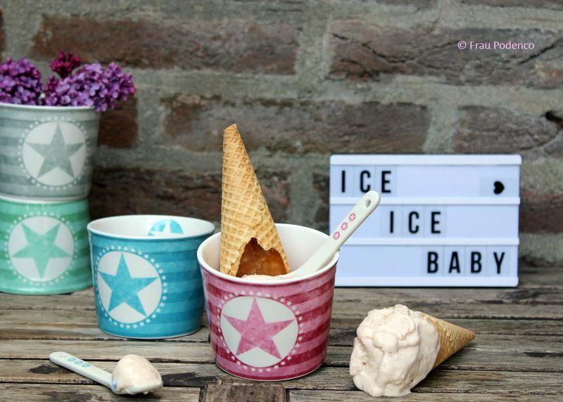 Rezept Veganes Rhabarber-Eis