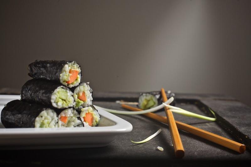 Rezept Veganes Sushi